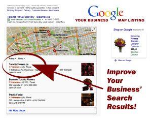 Google Map Listings